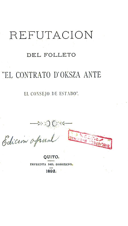 Refutación del Folleto