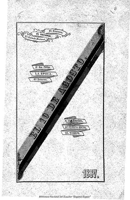 El Aniversario de la independencia del Ecuador y la prensa de Lima, 10 de agosto de 1887