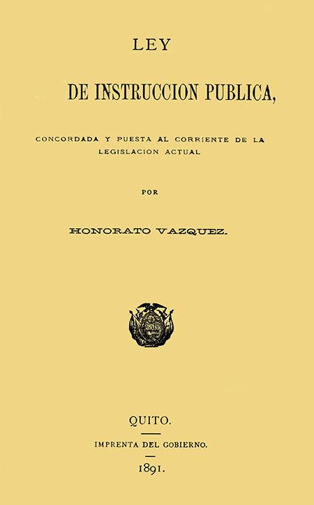 Ley de Instrucción Pública, concordada y puesta al corriente de la legislación actual.