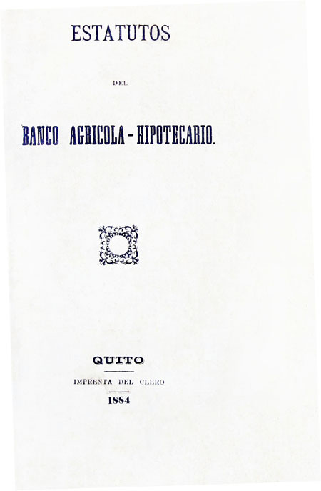 Estatutos del Banco Agrícola - Hipotecario (Folleto).