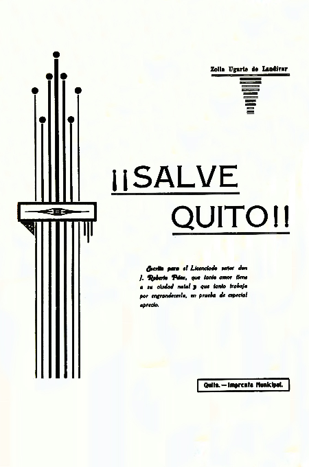 ¡¡ Salve Quito!! ( Folleto).