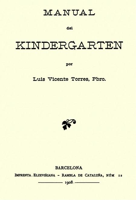 Manual del Kindergarten.