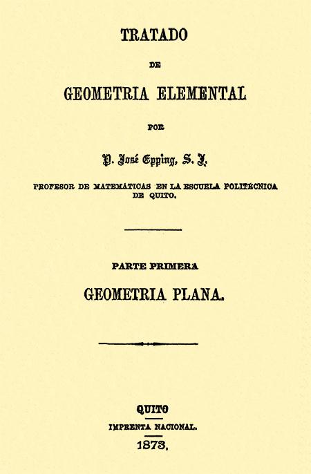 Tratado de geometría elemental : parte primera Geometría Plana.