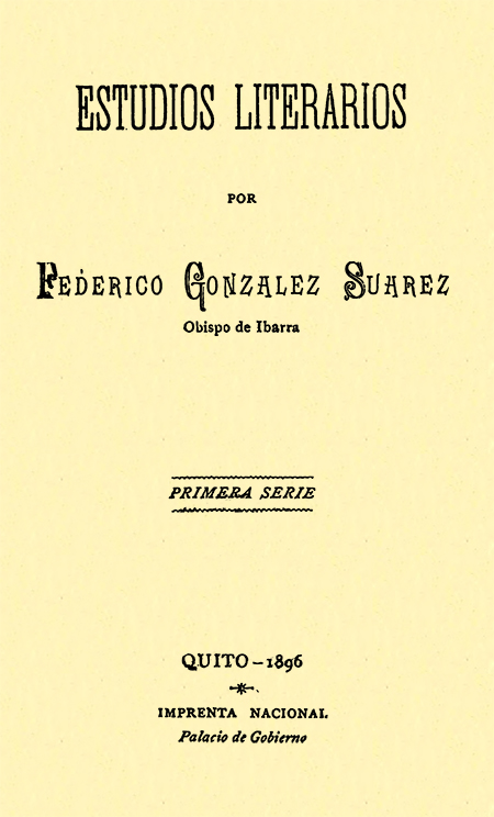 Estudios literarios : primera serie.