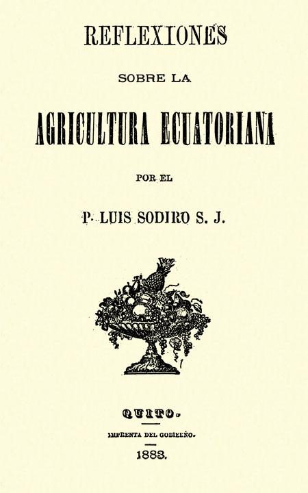 Reflexiones sobre la agricultura ecuatoriana.