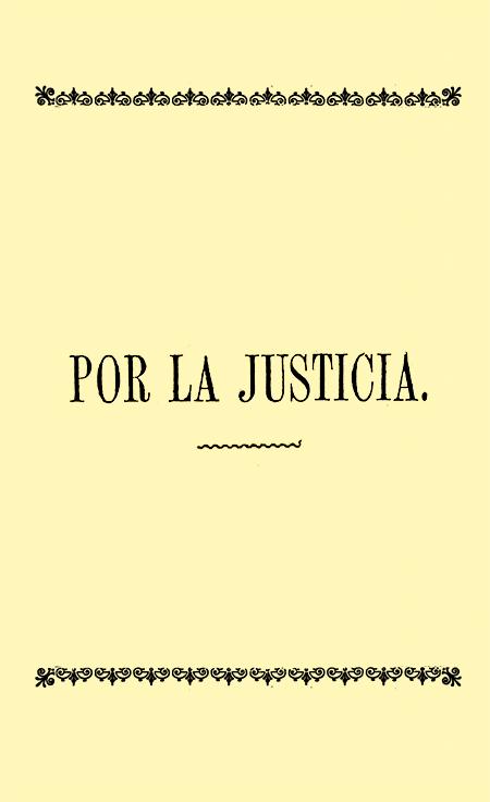 Por la Justicia (Folleto).