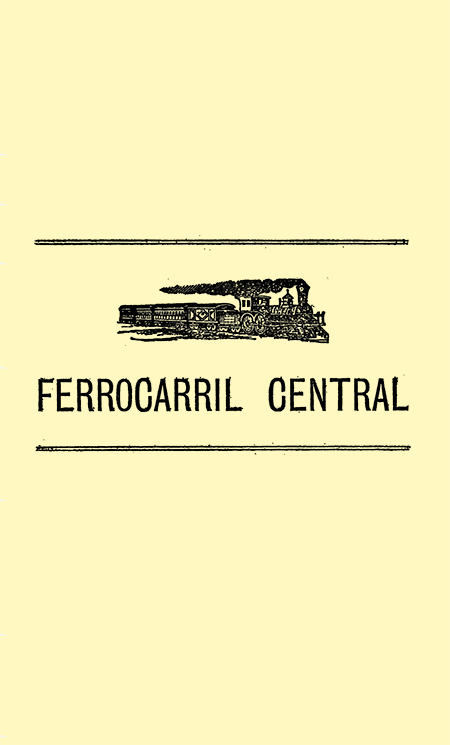 Ferrocarril central (Folleto)