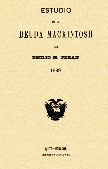 Estudio de la deuda Mackintosh (Folleto).